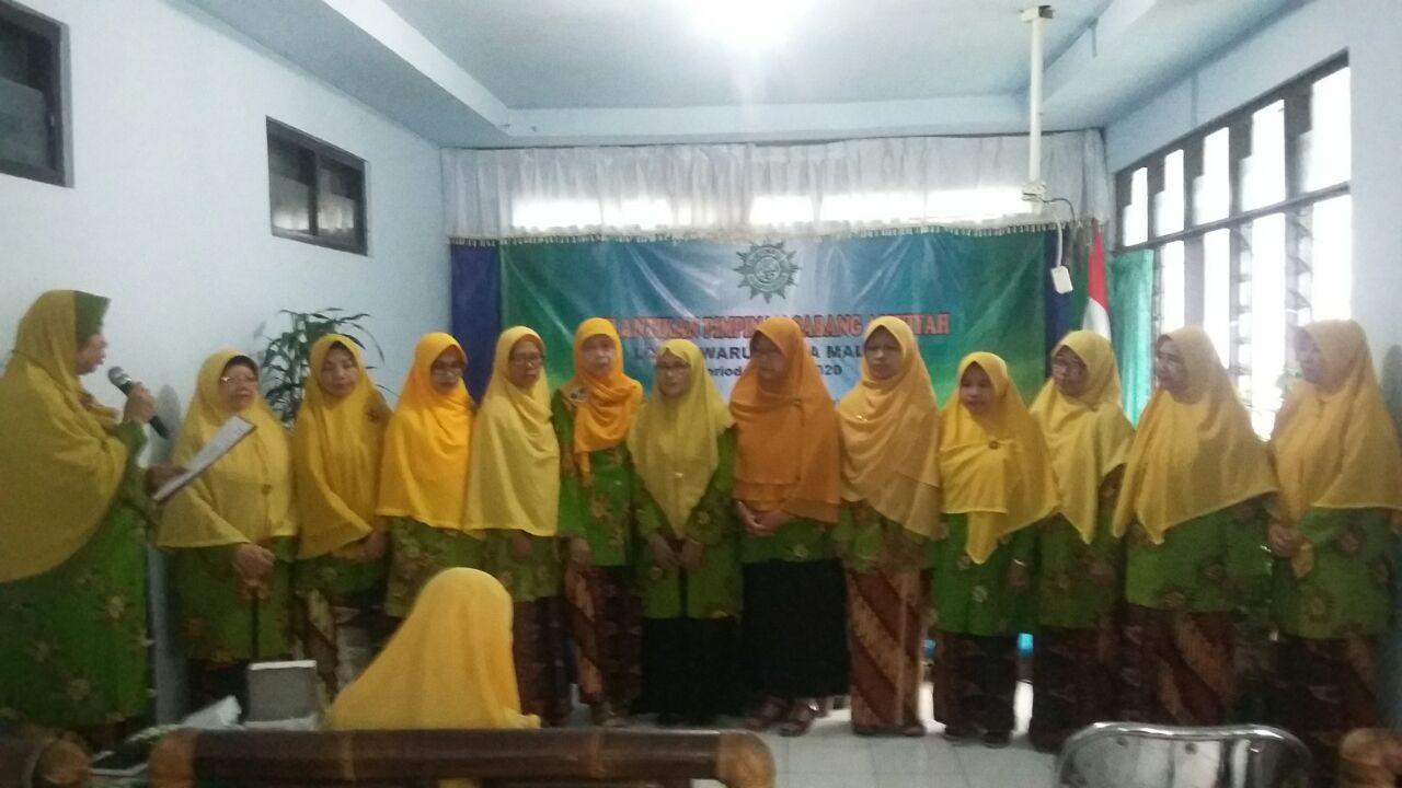 Pelantikan Pimpinan Cabang 'Aisyiyah Lowokwaru Kota Malang